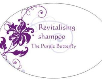 Organic, vegan revitalising shampoo for dry hair