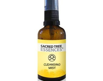 CLEANSING MIST Shamanic Aura & Space Spray a synergy of  sacred Amazonian master plants, essential oils and icaros, medicine songs.