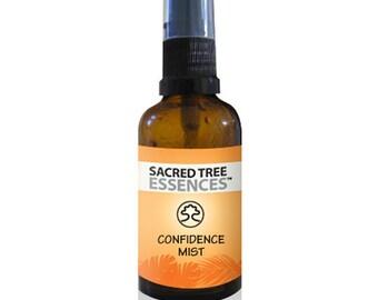 CONFIDENCE MIST Shamanic Aura & Space Spray a synergy of  sacred Amazonian master plants, essential oils and icaros, medicine songs.