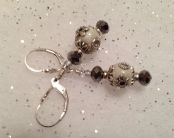 Beautiful dangle earrings