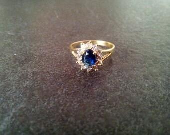 SALE! Engagement Ring,Gold ring, Kate Middleton ring, Princess Diana ring, Royal gemstone ring, Wedding from Prince William,