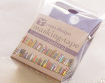 Japanese die cut washi masking tape - yano design - books - 20mm x 5m