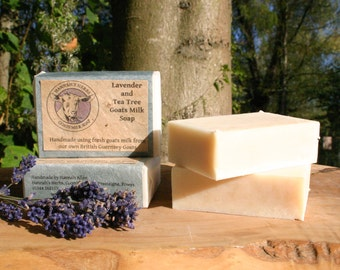 Lavender and Tea Tree Goats Milk Soap