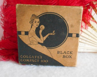 1930's Art Deco Powder Box