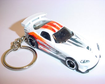 3D Dodge Viper SRT custom keychain by Brian Thornton keyring key chain speedhunters racing version