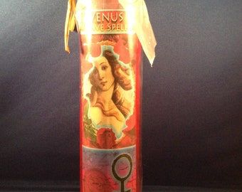 Venus Love Spell Candle
