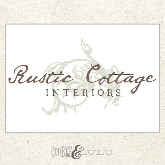 Vintage logo design rustic logo custom logo design for photographers