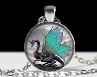 Dragon Jewelry Wearable Art Dragon Necklace Steampunk Jewelry