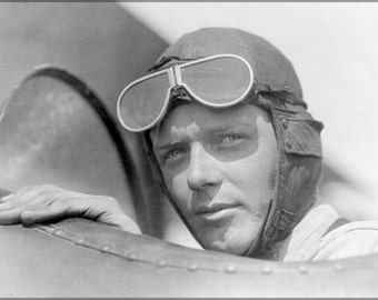 24x36 Poster; Charles Lindbergh