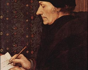24x36 Poster; Desiderius Erasmus Von Rotterdam
