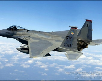 24x36 Poster; F-15 Eagle First Fighter Wing