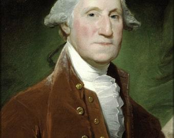 24x36 Poster; George Washington, 1795-1796 By Gilbert Stuart
