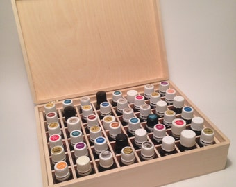 Large Essential Oil Box/Case Holds 48 15ml bottles