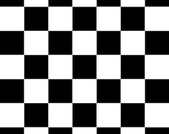 Black And White Checkard  vinyl Photography Backdrop