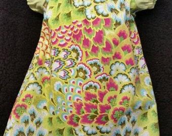 Amy Butler girls peasant dress
