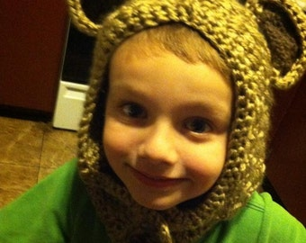Adorable Bear Hoods keep your loved ones cozy!