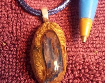 boulder opal pendant..