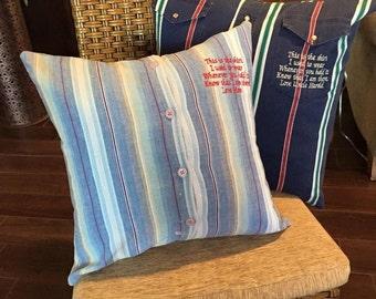 Custom Handmade Memory Pillows or Pillow Covers