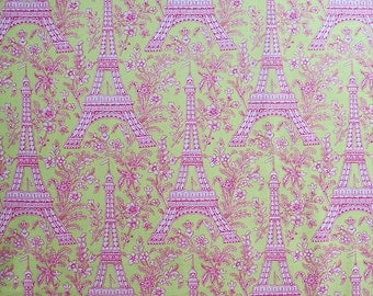 MICHAEL MILLER - CX1248-Wate-P - Eiffel Tower - Light Green - Pink