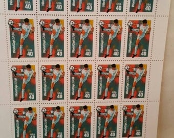 U.S. Postage Stamps World Cup Soccer 1994