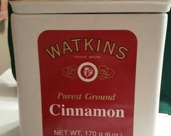 Watkins  Cinnamon Cookie Jar
