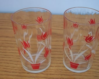 1950's Juice Glasses