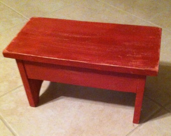 Items Similar To Reclaimed Wood Childrens Table And