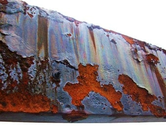Rust covered beam