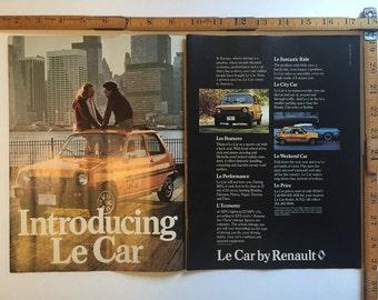1970's Le Car ad