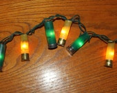 Greenbay Packers Shotgun Shell Party Lights- Set of 50 lights (14 feet total).