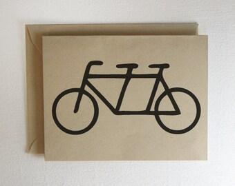 Tandum Bike Card