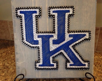 String art University of Kentucky Wildcats