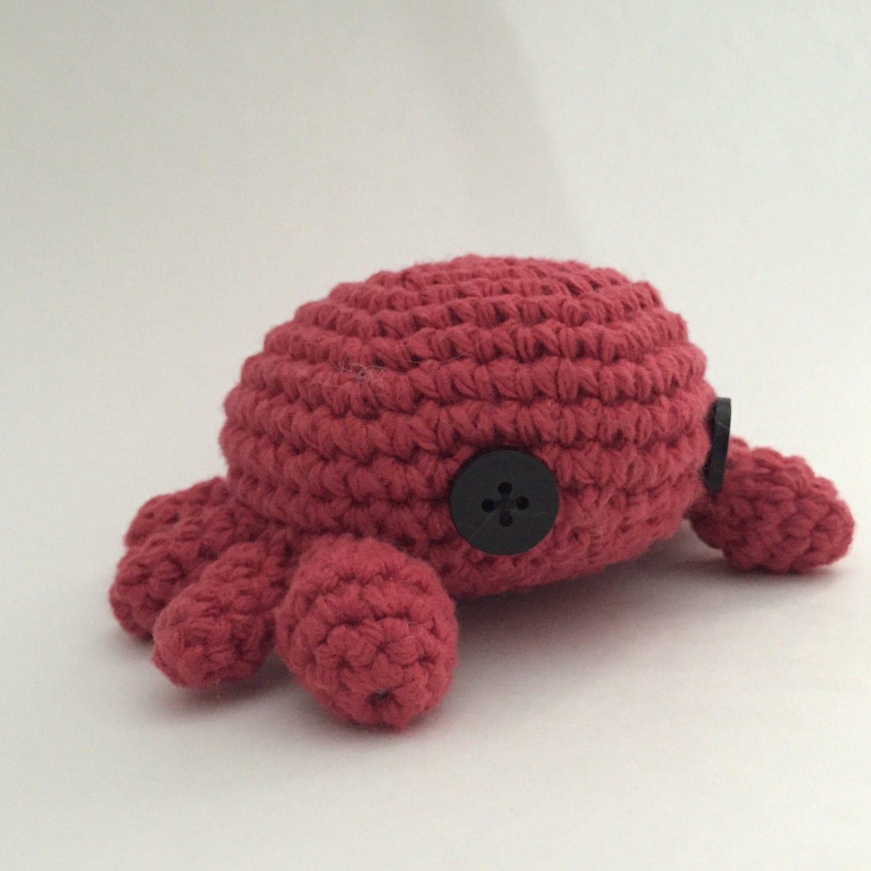 Amigurumi Crab : Crochet Amigurumi Crab Stuffed Animal Toy Plush by ...