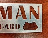 Man Card Bottle Opener