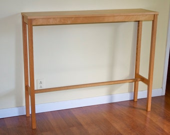 Tall Narrow Console Table