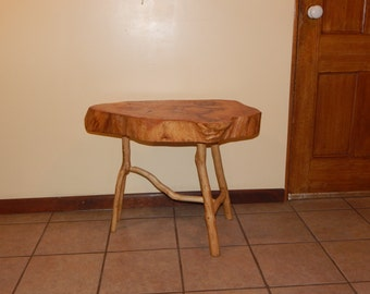 Maple Wood Slab Table