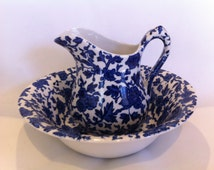 Popular Items For Pitcher And Bowl On Etsy