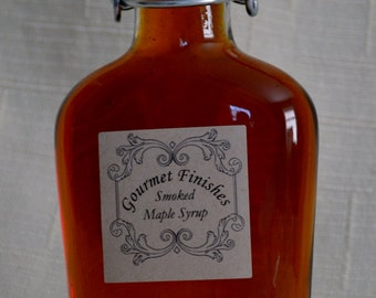 Hickory Smoked Maple Syrup