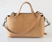 The Leather Crossbody. A Functional and fine Leather cross-body tote.