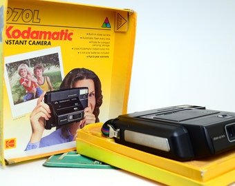 Kodak 970L Kodamatic Instant Camera, Vintage Camera