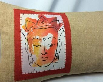 Buddha Pillow 14x8~