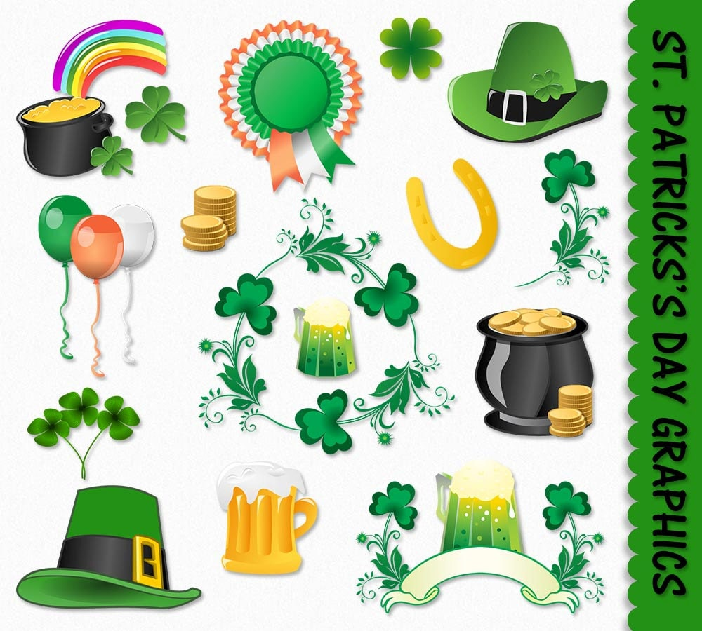 It's just a graphic of Sly Free Printable Clipart for St Patrick's Day