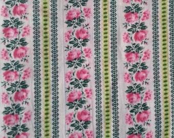 100% Cotton Romantic Roses Fabric
