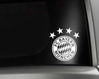 Bayern Munich Soccer FC Car Window Decal