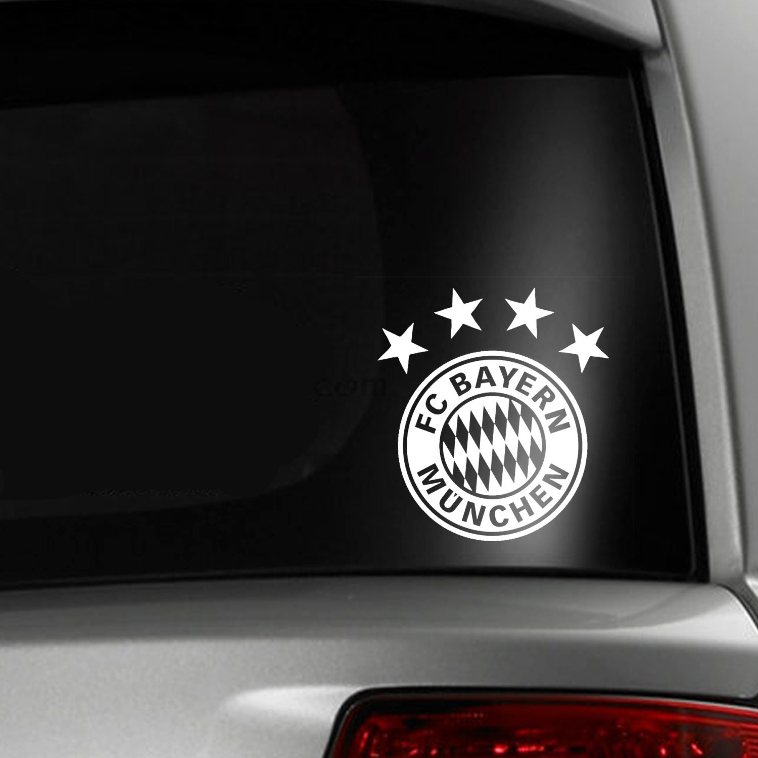bayern munich soccer fc car window decal. Black Bedroom Furniture Sets. Home Design Ideas