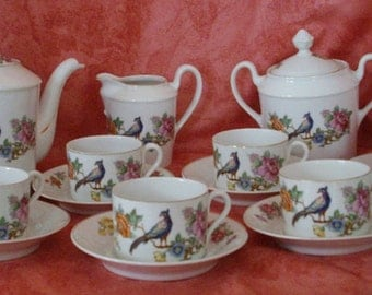 Porcelain coffee service