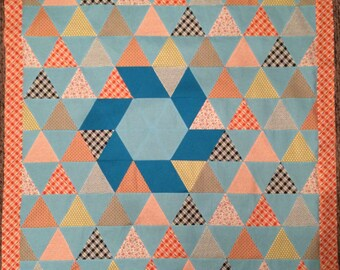 Edwardian Inspired Thousand Pyramid Quilt