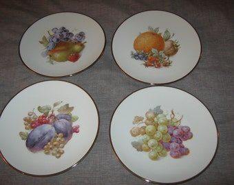 Set of 4 Dishes Schumann Arzberg Germany