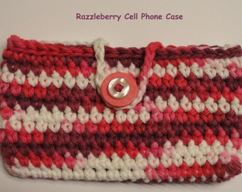Razzleberry Cell Phone Cozy