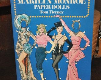1979 Vintage MARILYN MONROE Paper Dolls ~ Tom Tierney ~